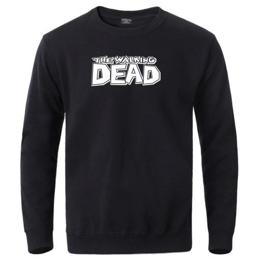 The Walking Dead Hoodies Sweatshirt 2020 Male Crewneck Sportswear Winter Warm Sweatshirt Hooded Spring Winter Fleece