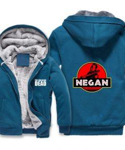 The Walking Dead Jackets cosplay Print Streetwear Thicken Coat Fleece Brand Clothing Tracksuits Hoodies 4