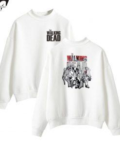 The Walking Dead New Arrive Oversize Turtlenecks Hoodies Sweatshirts Women Men Hoodies Loose Casual Sweatshirts 6