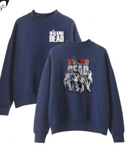 The Walking Dead New Arrive Oversize Turtlenecks Hoodies Sweatshirts Women Men Hoodies Loose Casual Sweatshirts 9