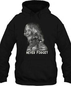 The Walking Dead Rick Grimes Never Forget Black S 6XL Streetwear men women Hoodies Sweatshirts scaled