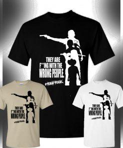 The Walking Dead T Shirt Team Rick Michonne Daryl Dixon Rick Grimes Carl Custom T shirt