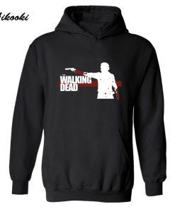 The Walking Dead Zombies Fashion Hoodie men women Punk Autumn winter warm long sleeve casual high 1