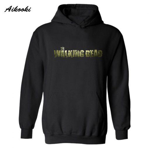 The Walking Dead Zombies Fashion Hoodie men women Punk Autumn winter warm long sleeve casual high 2