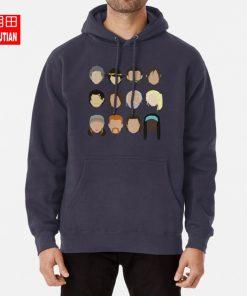The Walking Dead hoodies sweatshirts rick grimes carl grimes glenn carol daryl dixon maggie greene hershel 2