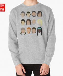 The Walking Dead hoodies sweatshirts rick grimes carl grimes glenn carol daryl dixon maggie greene hershel 4