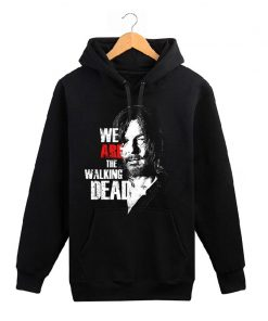 The Walking Dead memorial hoodies men wool liner cotton sweatshirt men Glenn Rick Daril Negan brand 2