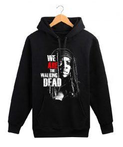 The Walking Dead memorial hoodies men wool liner cotton sweatshirt men Glenn Rick Daril Negan brand 3