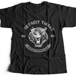 Tiger Detroit Animals T Shirt Nature Break The Rules Predator Wild Cat Pant B766