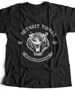 Tiger Detroit Animals T Shirt Nature Break The Rules Predator Wild Cat Pant B766