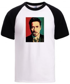 Tony Stark Iron Man Tshirt Mens Man Loose Crewneck Sportswear Tee 2020 Summer Spring 100 Cotton