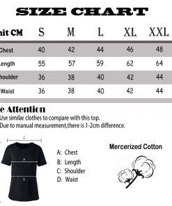 Tops T Shirt Women new orleans eye chart Basic Vintage Cotton Female Tshirt 5