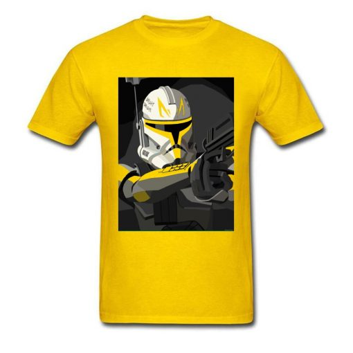 Tshirt Star Wars Man T Shirt Captain Rex Mens T shirts Droid Pilot Star Tours Tops 1