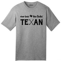 USA Made River Loving Tube Floating Texan American T Shirt Country Texas Summer