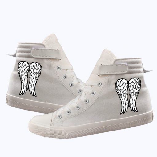 Unisex Winter The Walking Dead Canvas Shoes Lace Up Sneakers Shoes Casual Shoes Leisure Shoes 1