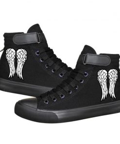 Unisex Winter The Walking Dead Canvas Shoes Lace Up Sneakers Shoes Casual Shoes Leisure Shoes