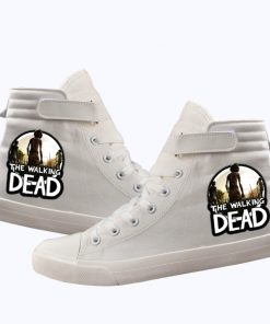 Unisex Winter The Walking Dead Canvas Shoes Lace Up Sneakers Shoes Casual Shoes Leisure Shoes 3