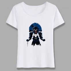 Venom Spiderman Black And White Marvel Badass T Shirt Women Tee Girl Cool Summer T shirt