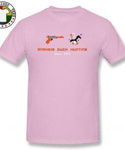 VideoGame Arcade Anaheim Duck Hunting Funny T Shirts Custom Cartoon Print New Tee Shirts Men Gunner 2