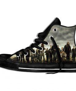 Walking Dead Sneakers 3d Wen Casual shoes Streetwear Hip Hop Funny Shoes Summer Fashion 2019 New 1