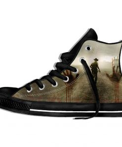 Walking Dead Sneakers 3d Wen Casual shoes Streetwear Hip Hop Funny Shoes Summer Fashion 2019 New 2