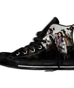 Walking Dead Sneakers 3d Wen Casual shoes Streetwear Hip Hop Funny Shoes Summer Fashion 2019 New 3