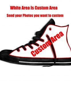 Walking Dead Sneakers 3d Wen Casual shoes Streetwear Hip Hop Funny Shoes Summer Fashion 2019 New 5