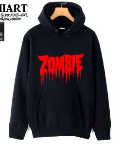 Walking Dead Zombie Bloody Hand Man Boys Hoodie Couple Clothes Autumn Winter Fleece ZIIART 3