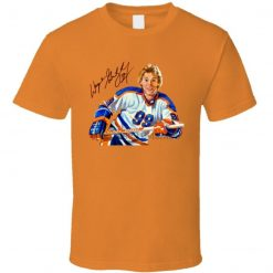 Wayne Gretzky Edmonton Hockey The Great One Cup T Shirt