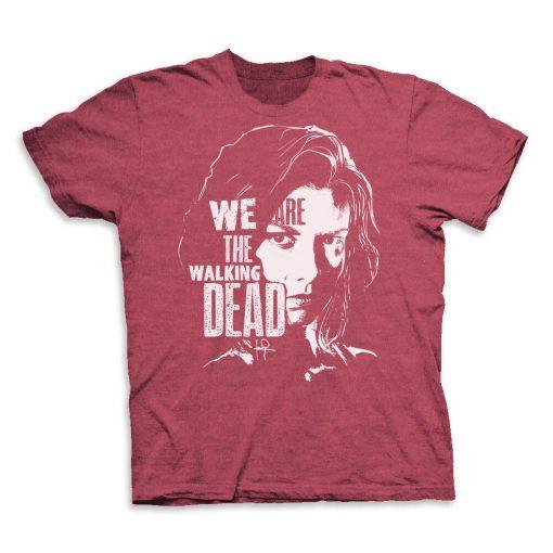 We Are The Walking Dead Maggie Men S T Shirt Tee2019 New Summer Men Men 100 2