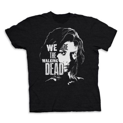 We Are The Walking Dead Maggie Men S T Shirt Tee2019 New Summer Men Men 100