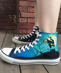 Wen Design Custom Hand Painted Shoes Men Women s Sneakers Walking Dead Painted High Top Canvas