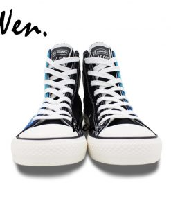 Wen Design Custom Hand Painted Shoes Men Women s Sneakers Walking Dead Painted High Top Canvas 4