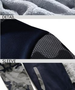 Winter Hoodies For Men 2018 New Arrival Camouflage Sweatshirt Thick Fleece Hoody WALKING DEAD Punk Streetwear 2