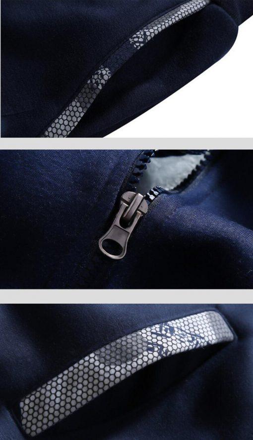 Winter Hoodies For Men 2018 New Arrival Camouflage Sweatshirt Thick Fleece Hoody WALKING DEAD Punk Streetwear 4