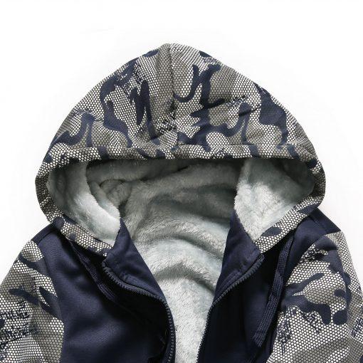 Winter Hoodies For Men 2018 New Arrival Camouflage Sweatshirt Thick Fleece Hoody WALKING DEAD Punk Streetwear 5 scaled