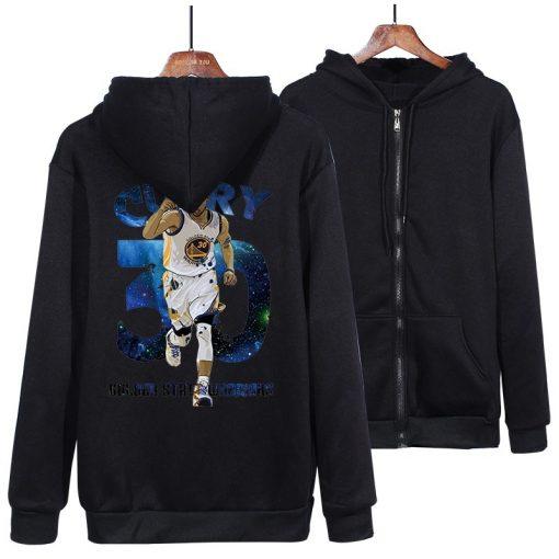 Winter warm casual hoodies pink red black gray 30 stephen curry jersey hip hop hoodies sweatshirt 2