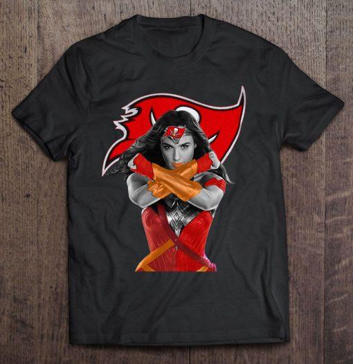 Wonder Woman And Tampa Streetwear Harajuku Bay 100 Cotton Men S Tshirt Buccaneers Tshirts
