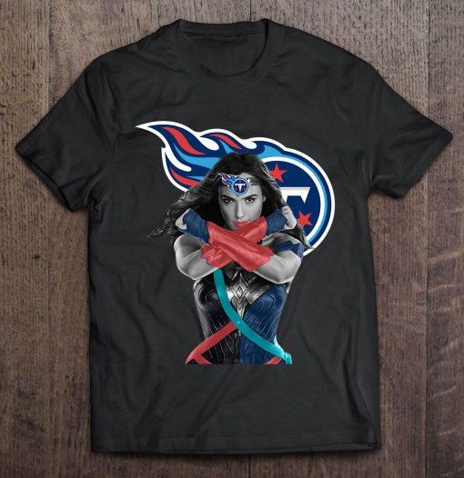 Wonder Woman And Tennessee Streetwear Harajuku 100 Cotton Men S Tshirt Titans Tshirts
