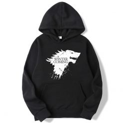XIN YI Fashion Brand Men s Hoodie Blend Cotton Game of Thrones printing Tops men Hoodies