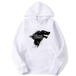 XIN YI Fashion Brand Men s Hoodie Blend Cotton Game of Thrones printing Tops men Hoodies 3