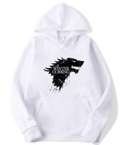 XIN YI Fashion Brand Men s Hoodie Blend Cotton Game of Thrones printing Tops men Hoodies 3
