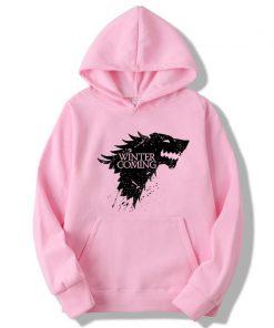 XIN YI Fashion Brand Men s Hoodie Blend Cotton Game of Thrones printing Tops men Hoodies 5