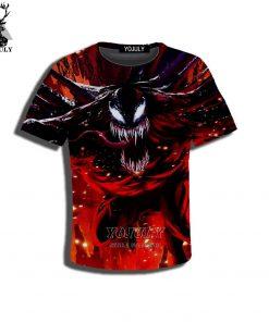 YOJULY 3D Print Superhero Venom Spiderman Kids Children Casual Tshirt Summer T shirt Boys Girls Youth 3