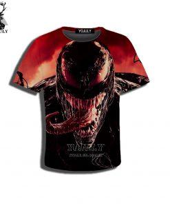 YOJULY 3D Print Superhero Venom Spiderman Kids Children Casual Tshirt Summer T shirt Boys Girls Youth 4
