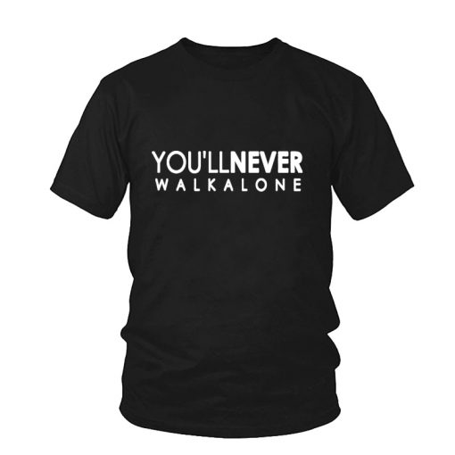 You ll Never Walk Alone T shirt Liverpool For Fans All Champions 2018 Fashion Men s 1