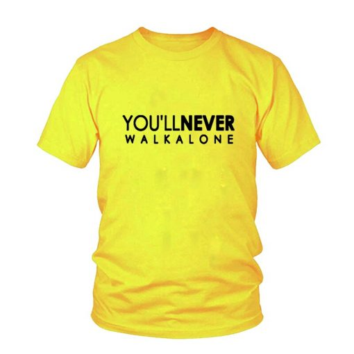 You ll Never Walk Alone T shirt Liverpool For Fans All Champions 2018 Fashion Men s 5