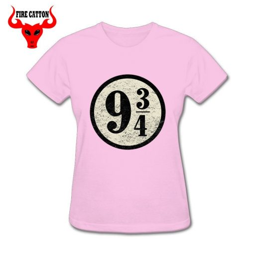 Young girl clothing Pulp Fiction Harry T shirts women maid Platform nine and three quarters T 1