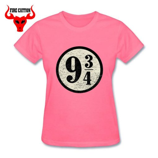 Young girl clothing Pulp Fiction Harry T shirts women maid Platform nine and three quarters T 3