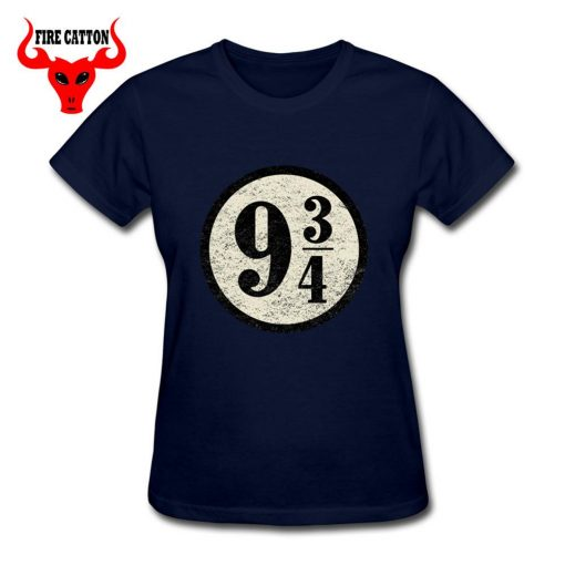 Young girl clothing Pulp Fiction Harry T shirts women maid Platform nine and three quarters T 4